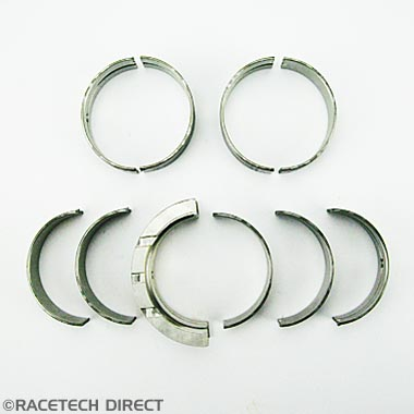 E0160A TVR Main Bearing Set 2.5 - Std