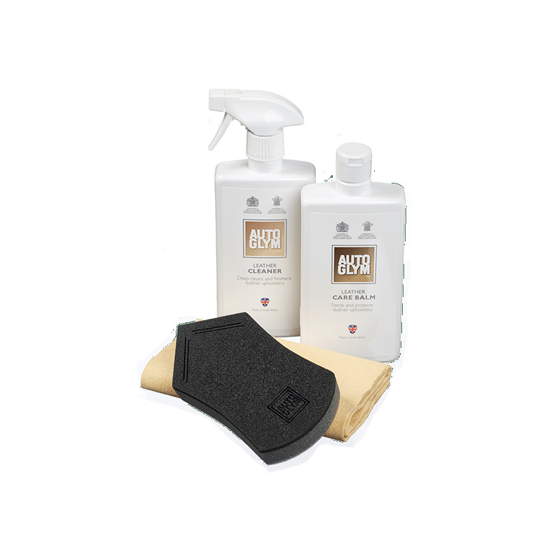 RDLCPKIT AutoGlym Leather Clean & Protect Complete Kit